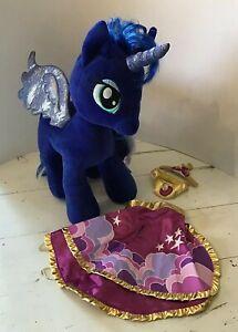 Build A Bear My Little Pony Princess Luna With Cape And Princess Luna By Ty Ebay