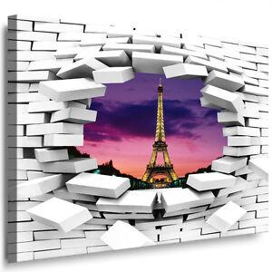 Bilder leinwand xxl wandbild fenster mauer loch blick for Fenster 70x50