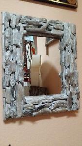 echter Treibholzspiegel  , 60 cm hoch