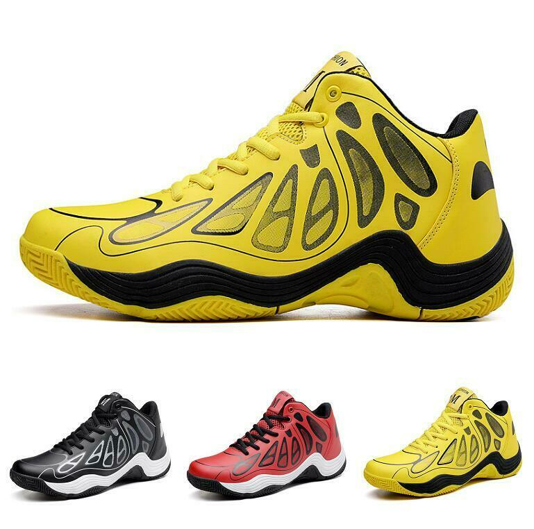 Men's 2019 Spring Sneaker Breathable Basketball Leisure Lace-up Comfort shoes Sz