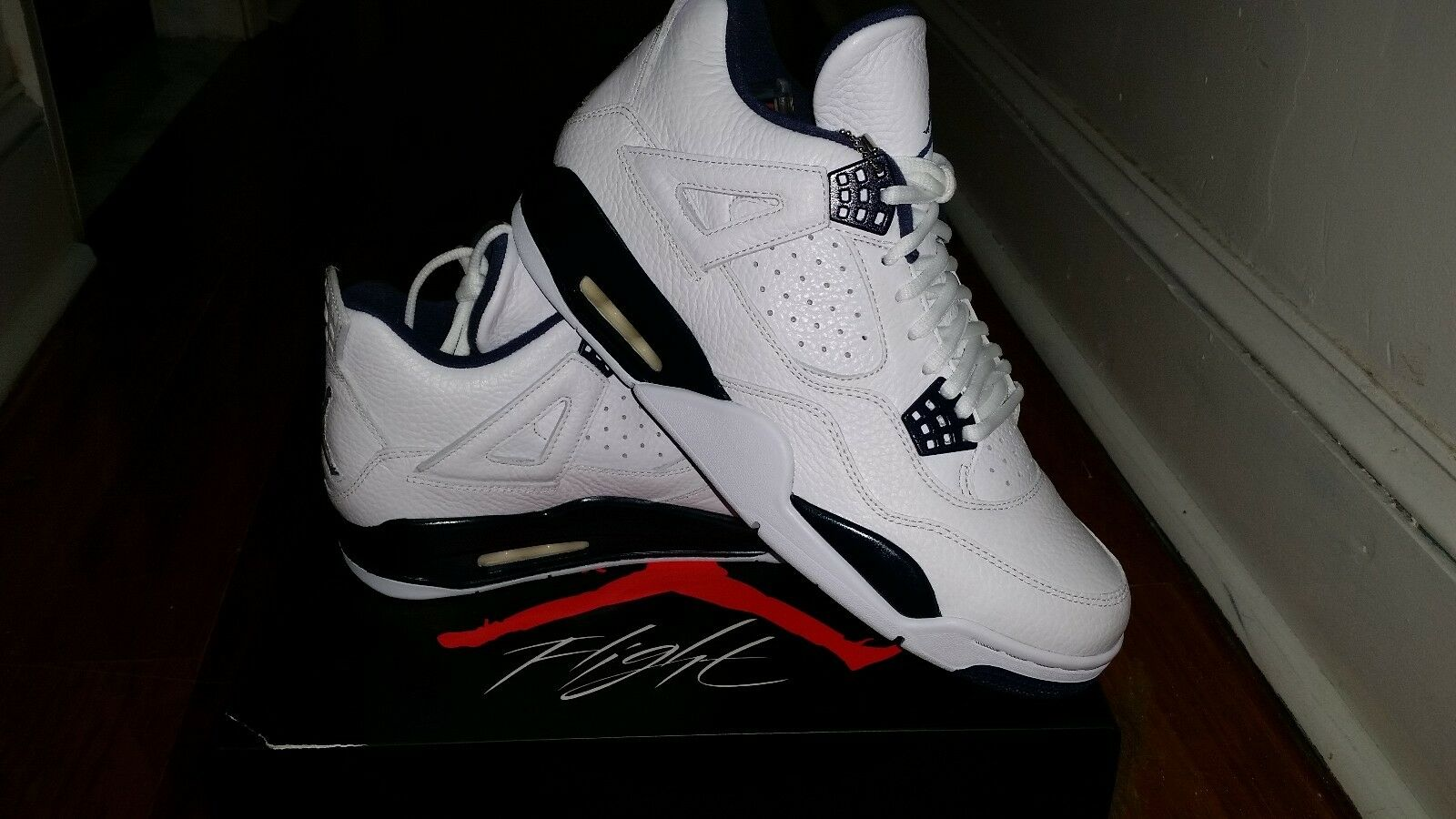 Nike Air Jordan 4 IV LS Columbia Navy Remastered 314254-107 GS & MEN Price reduction Brand discount