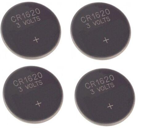 4 X Audi A2 A3 A4 A5 Tt Schlüsselanhänger Batterie Cr 1620