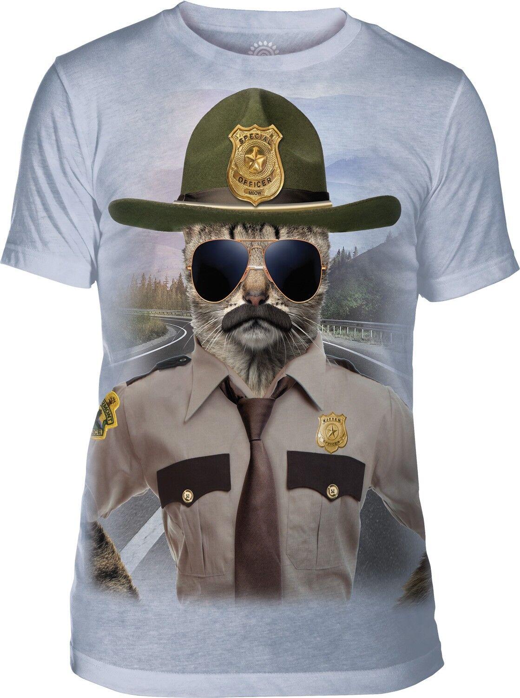 ab47e268ab91 The Mountain Adult Kitten Trooper T Shirt Tri-Blend Manimal nxqwiu35 ...