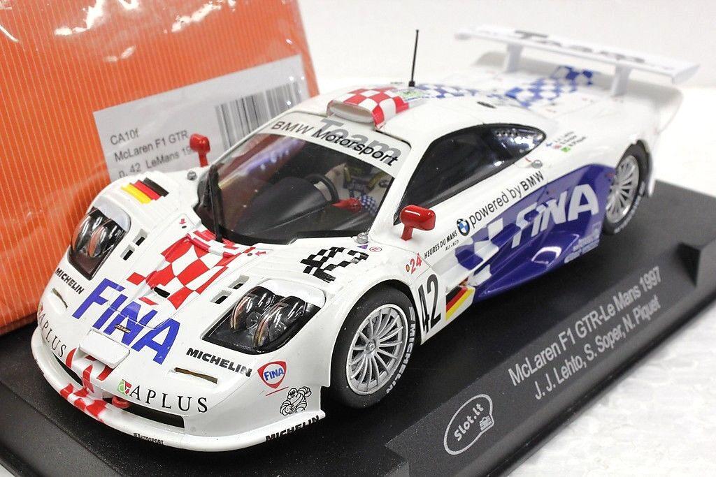 Slot it sica 10 F BWM McLaren F1 GTR Le Mans 1997,  42 1 32 Slot Car