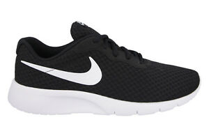 New-Nike-Boys-Running-Trainers-Shoes-TANJUN-PS-Black-White