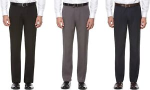 Perry-Ellis-Portfolio-Dress-Pants-Mens-Modern-Fit-Melange-Travel-Luxe-Flat-Front