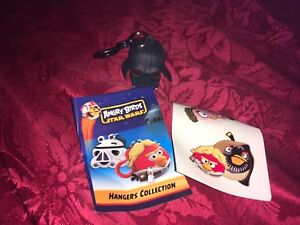 ANGRY-BIRDS-STAR-WARS-DARTH-VADER-HANGER-KEY-CLASP-WITH-STICKERS-AND-LEAFLET-new