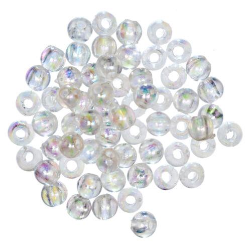 3x Extra Value plaqué perles 4 mm AURORA 3 PKS de 450 G à Coudre Craft Outil