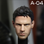 Worldbox AT027 1//6 scale Ripped Strong Man Male Figure w// head Chris Redfield