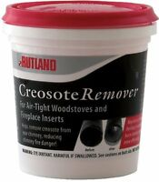 Rutland Dry Creosote Remover Chimney Treatment, 1-pound, New, Free Shipping