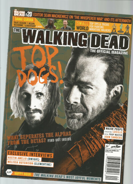 THE WALKING DEAD OFFICIAL MAGAZINE. #20 SPRING 2017