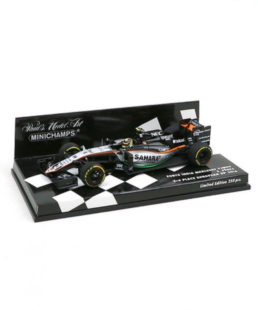 Mini Champs escala  Sahara Force India equipo de fórmula 1 Mercedes Vjm 09 Japón