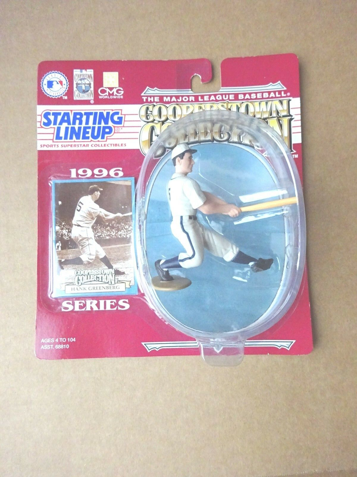 Starting Lineup Hank Greenberg Cooperstown 1996 action figure