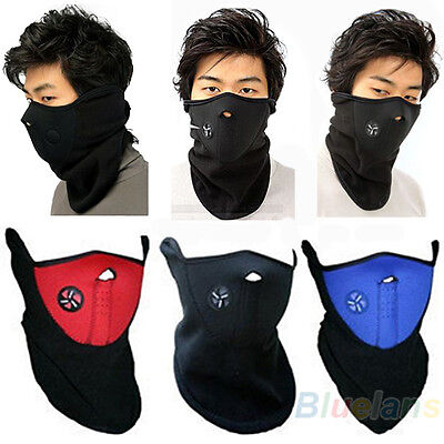 Hot Men Warm Ski Snowboard Motorcycle Bicycle Winter Sport Neck Warmer Face Mask