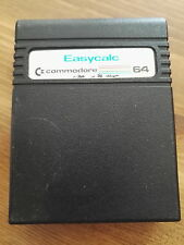 Easycalc - Cartridge Commodore 64 Unboxed