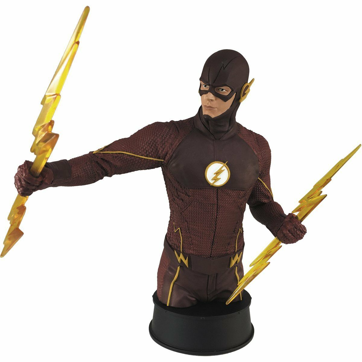 Dc - tv - flash - büste previews exclusive symbol helden