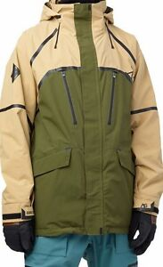 96411a265ce8 2015 NWT MENS BURTON ANALOG ZENITH GORE-TEX JACKET $390 Tan green AG ...