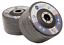 "100 Pack 4.5"" x 7//8/"" Jumbo 40 Grit Zirconia Flap Disc Grinding Wheels T29"