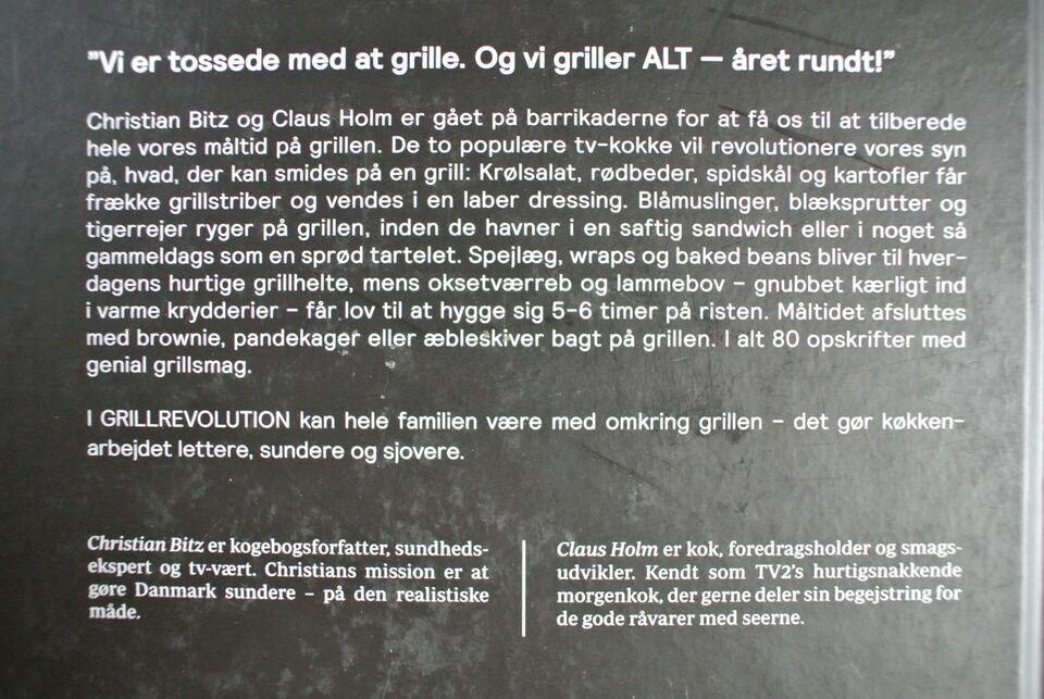 bitz og holms grillrevolution, christia bitz og claus