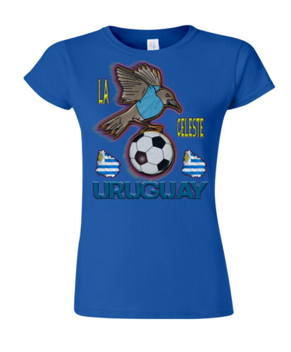 URUGUAY WORLD CUP 2018 FOOTBALL MASCOTTE T-Shirt Scelta Di Da Uomo Donna Bambini