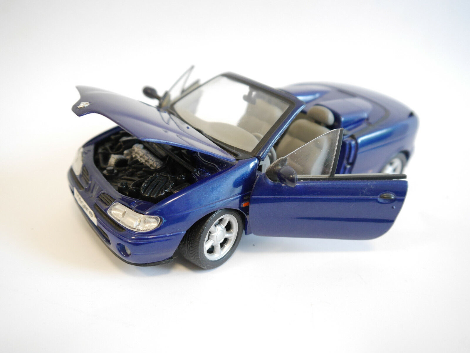 RENAULT Megane Cabriolet Cabrio Converdeible BLU blu blu METALLIZZATO, Anson 1 18