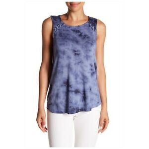 Olive + Oak Opal Tie Dye Tank Top NWT Women Size Large Sleeveless Casual Shirt