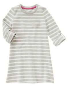 GYMBOREE CIAO PUPPY RED N WHITE STRIPE SWEATER KNIT DRESS 4 5 6 7 8 10 NWT