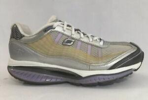 Skechers-SRR-Shape-Ups-Resistance-Toning-Walking-Shoes-Women-039-s-Size-8-Purple