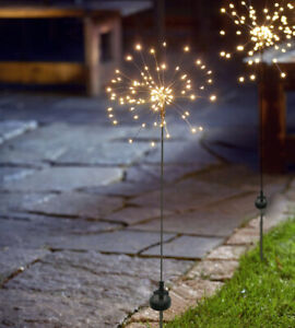 LED-Solar-Gartenstab-Firework-Gartenstecker-90-LED-Gartendeko-warmweiss-IP44