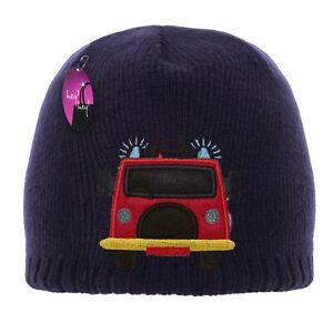 KIDS NEON BEANIE HATS BOYS GIRLS WARM WOOLLY WINTER SKI SCHOOL KNITTED FOOTBALL
