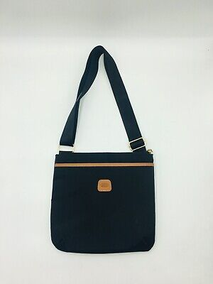 Bric/'s Milano USA X-Bag Urban Envelope Crossbody Bag Black NWT