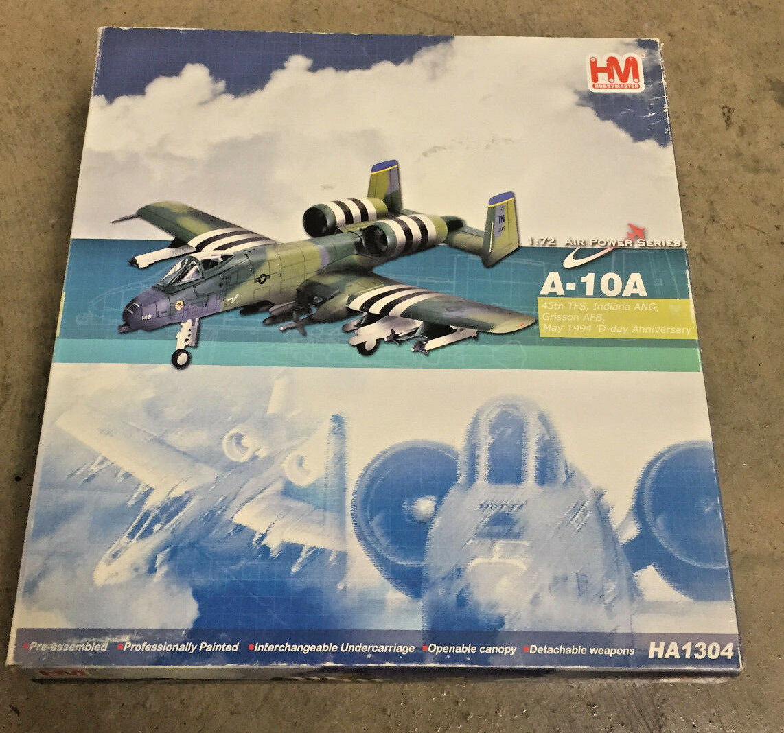 Hobby Master HA1304 A-10A Thunderbolt II May1994 D-Day Anniversary