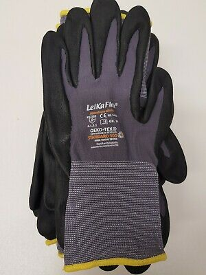 12 Paar Leikaflex Rl 1466 Arbeitshandschuhe Gr.10 Kunden Zuerst