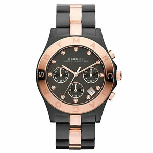3e0855aba07 NEW  MARC BY MARC JACOBS LADIES WATCH MBM3180 - BLADE TWO TONE ROSE ...