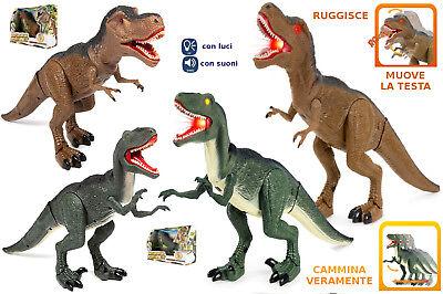 Rstoys 10765 T-Rex Camminante Dinosauro Luci e Suoni