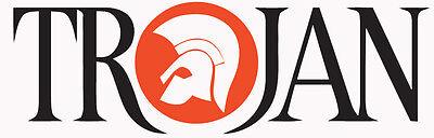 Trojan Records Logo Sticker Decal PAIR Mod Ska Motown Scooter LI TV SX GP PK PX