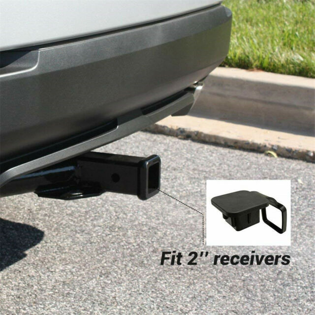 """Trailer Hitch Cover tube Plug Insert Fits 2/"""" Receivers Thin Blue Line"""