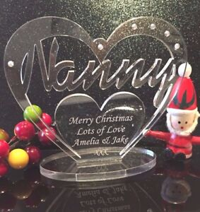 Personalised-Heart-with-message-for-Nan-Nanny-Nanna-Birthday-with-Stand