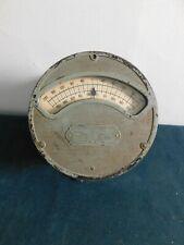 Antique 1901 Weston Electric Volt Milliamp Meter