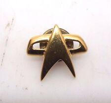 "Star Trek Voyager Communicator Gold Lapel Pin- Small Size  3/4"" (STPI-VY01)"
