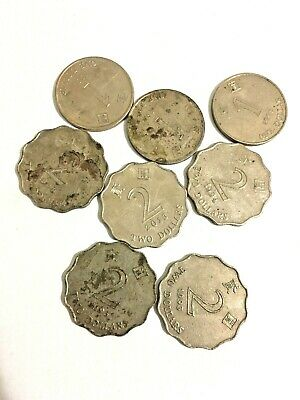 Hong Kong New coins set 1995-2013