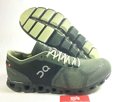 New Men's ON CLOUD X Cloudtec Running Shoes ForestJungle Green 2099985 c1 | eBay