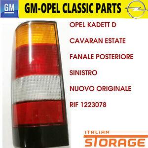 Opel-Kadett-D-Cavaran-Verano-Faro-Trasero-Izquierdo-Nuevo-Original-1223078