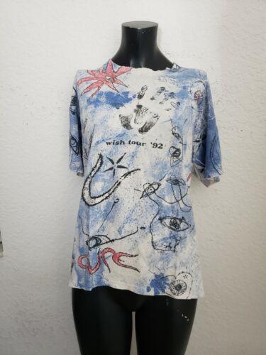 Vintage The Cure 1992 Wish Tour T-shirt XL BROCKUM