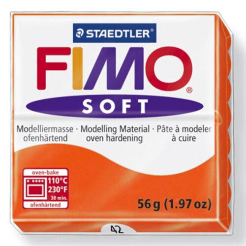 Fimo Soft 56g Arcilla Polimérica 24 Colores 5cm X 5cm de modelización Joyería Artesanal Arte