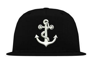 Cap-Kappe-034-ANKER-2-034-Snapback-xo-king-era-hipster-yacht-boat-sea-street-hip-hop