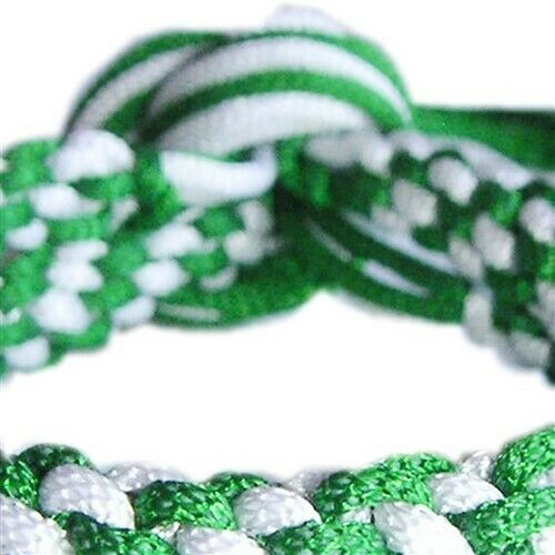 GREEN /& WHITE MUAY THAI THAIBOXING FIGHTER TRADITIONAL ARM BANDS