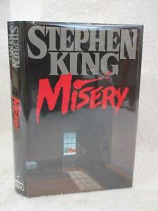 Stephen King MISERY Viking Press, NY 1987 First Edition HC/DJ