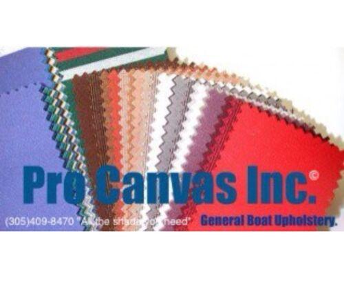 "Top Gun 1S Marine Acrylic Coated Polyester Fabric 60/"" Wide ONYX BLACK 4071"