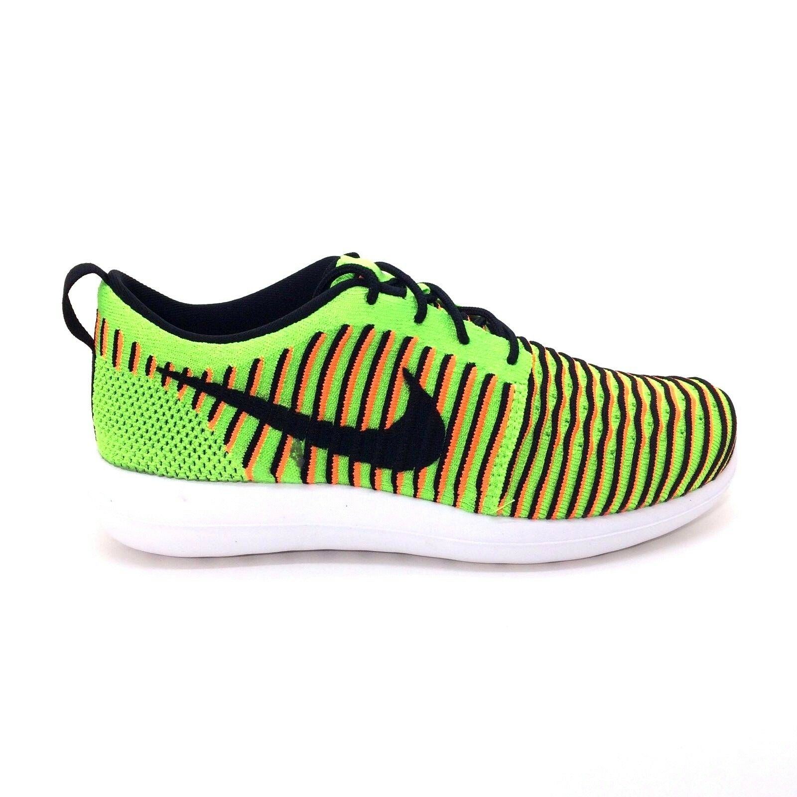 e06d1edf09a20 Buy Nike Roshe Two Flyknit GS Running Shoes Youth 6y Electric Green ...